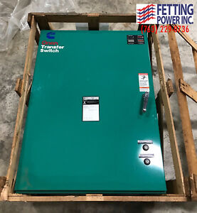 New 225 Amp Cummins Onan Manual Transfer Switch 208 240v Ot 225
