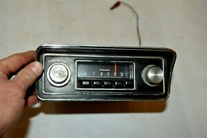 Old Ford Fomoco Classic Retro Vintage Original Car Dash Radio Usa With Presets