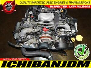 Jdm Ej20 Subaru Forester Legacy Outback Engine 2 0l Motor Replacement Ej25 Ej203