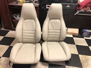 Porsche 911 964 944 951 Turbo 968 Original Front Recaro Bucket Manual Seats