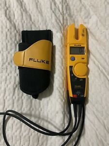Fluke T5 600 Voltage And Current Tester Meter Multimeter Fast Shipping Free Ship