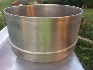 Hobart 40qt Bowl Extension Splash Guard Commercial Mixer Stainless