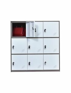 Office And School Locker Organizer Metal Storage Locker Cabinet For Workers S