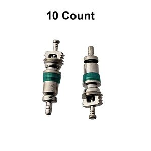 10 Count Standard Style R 1234yf A C Schrader Valve Core Fitting
