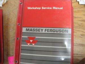 Massey Ferguson M f 1000 Series Compact Tractors Workshop Service Manual