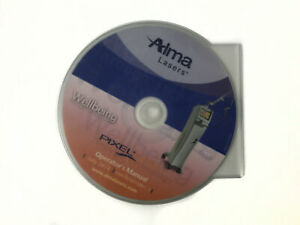 Alma Lasers Pixel Co2 System Digital Operators Manual Cd 2014 Omco10010801