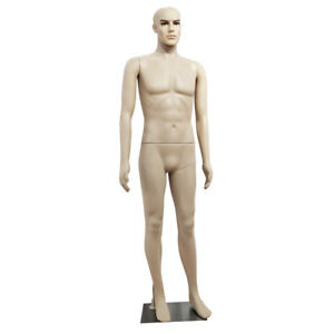 Male Straight Hand Straight Foot Full Body Model Mannequin Skin Color