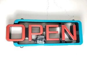 Cm Global Mystiglo Led open Sign With Remote Open Business Sign