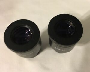 Olympus Whk10x 20 Set Of Eyepieces Good Condition