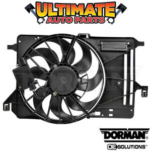 Left Side Radiator Cooling Fan 1 0l Turbo W Controller For 15 18 Ford Focus