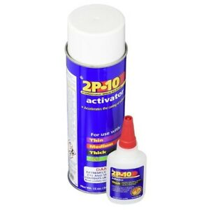 Super Glue Adhesive 2 25 Fastcap 2p 10 Ounce Thick