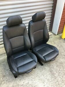 Oem Bmw E90 325 330 328 335 Sedan Interior Sport Seat Seats Front Set Black