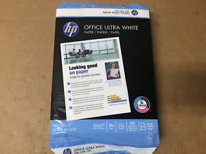 Hp Printer Paper Office20 Paper 8 5 X 11 Letter Size 20lb Shelf Pull
