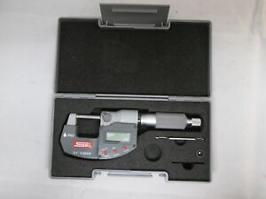 Spi 0 1 Electronic Digital Micrometer Ip65 Smooth Rotation