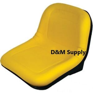 John Deere Gator Seat Yellow 4x4 4x2 6x4 Turf Trail Am133476
