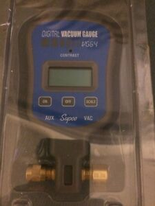 Digital Vacuum Gauge Vg 64