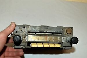 Old 1959 Ford Fomoco Classic Retro Vintage Original Car Dash Radio Usa 94mf