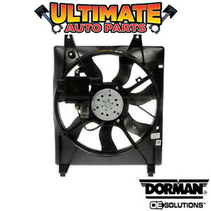 Radiator Cooling Fan With Controller 3 8l V6 For 06 10 Kia Sedona