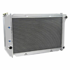 4 Row Aluminum Radiator For 1971 1973 Ford Mustang Country Sedan Squire V8