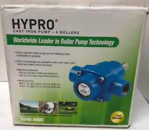 Hypro Cast Iron Pump 4000c Series 4 Rollers 4101c New