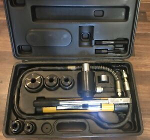 Pittsburgh 96718 Hydraulic Punch Knockout Driver Kit Set