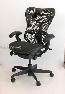 Herman Miller Mirra Hard Back Fully Loaded Ergonomic Task Chair