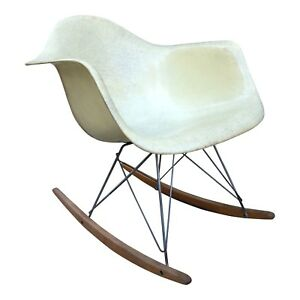 Eames Zenith Rope Edge Rocker Iconic Mid Century Chair For Herman Miller
