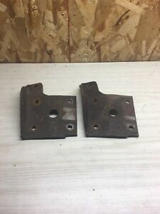 1970 81 Firebird Trans Am Posi Rear End 10 Bolt Bracket Shock Mount Plate U Bolt