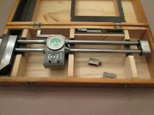 Phase Ii Double Beam Dial Height Gage Counter Scribers Case