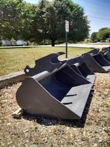 48 Ditching Bucket W 40 Mm Pins Fits Cat 305 Cr