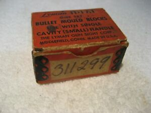 Lyman 311299 Single Cavity Bullet Mold Lead Bullet Casting Mould