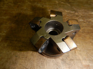 Lmt Fette Carbide Insert Milling Mill Head Machinist Tooling