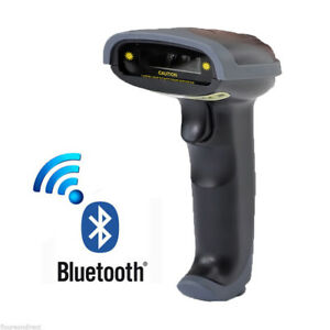 Portable Wireless Bluetooth Barcode Laser Scanner Reader For Apple Ios Android