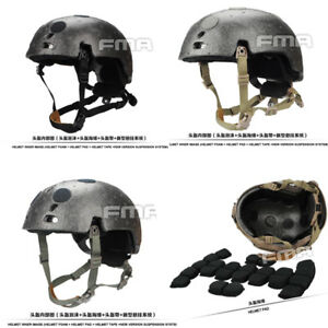 FMA Suspension Liner & Memory Foam Protective Pad For Ballistic Helmet TB1050