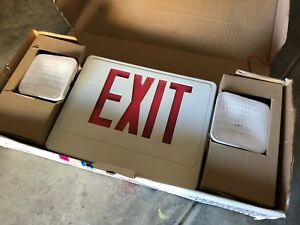 New Skyline Combo Skyu2rw Exit Light led red Lettering double Face
