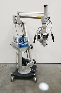 Zeiss Opmi Cs nc Nc31 Contraves Neuro Surgical Microscope With Superlux 301