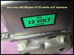 Nos 1950 1956 Mopar Overdrive Relay 12v O d Chrysler Plymouth Dodge Rag 4001