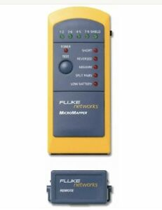 Fluke Networks Mt 8200 49a Micromapper Lan Wiremap Checker Cable Tester New
