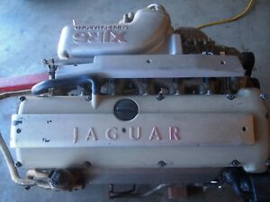 Used Oem Jaguar X306 Xjr 6 cyl 4 0 Supercharged Engine With 82k Miles 1995 1996