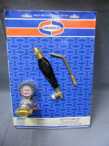 Uniweld K37 Air acetylene Soft Flame Kit For B Tank With Th3 Handle