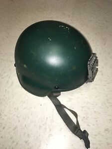ACH Helmet no cover With Rhino mount. New pads Lightly used. (Large)