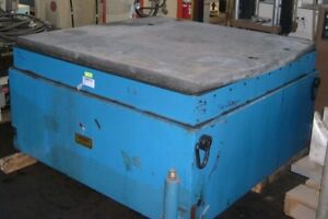 Kimball Horizontal Slip Table Vibration System Unholtz Dickie Lds Shaker Test