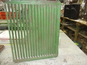 John Deere A Radiator Shutters Fits 1939 A Only Aa1794r Fits Sn 477000 487999