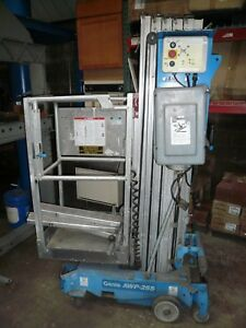 The Genie Awp 25s Single Person Work Lift