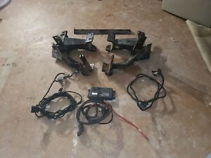 Fisher Minute Mount 2 Push Plates And Cables