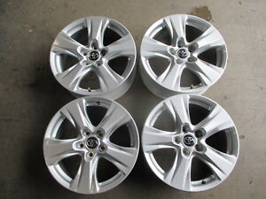 Four 2019 Toyota Rav4 Factory 17 Wheels Rims Oem Highlander 17x7 0 35mm