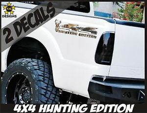 4x4 Decals Oak Tree Camouflage Set For Ford F150 Super Duty Deer Hunting Camo