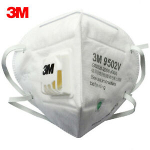 25pc 3m 9502v Particulate Respirator Noseclip Adult Dust Face Mask Folding Mask