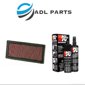 K N Air Filter 33 2945 99 5000 Cleaning Care Service Kit
