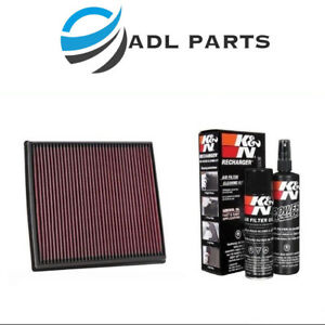 K N Replacement Air Filter 33 2428 99 5000 Cleaning Care Service Kit
